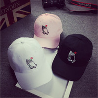 Wholesale Palm Roses Embroidered Baseball Cap Spring and Summer Men and Women Sun visor cap