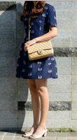 artificial suede fabric - 1112 Bag Bag CM cm High Quality Fashion women s Handbag Double Flap Bag artificial leather Shoulder Bags