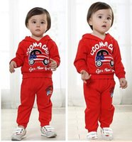 bape clothing - 2016 Autumn Winter Boys Girls Outfits Baby bape Car Hoodie Shirt Pants Sets Outfit Children Fashion Tracksuit Kids Clothing