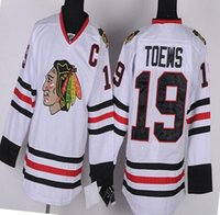 Wholesale Mens Jonathan Toews Color White Red Black High Quality Stitched Throwback Jerseys