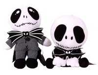 big jack stands - New arrival selling Halloween plush Skull toys Jack boy sitting and standing holiday gifts