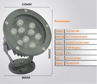 Wholesale IP65 Outdoor led spot lamp for garden park trees afforest landscape V input W W high brightness flood light