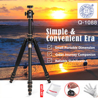 ball aluminum cans - QZSD Q1088 Professional Aluminum Alloy Tripod kg Load mm mm with Ball Head One Leg Can Use as Monopod for DSLR Cameras
