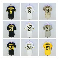 Wholesale 2016 Pittsburgh Josh Harrison Jersey Willie Stargell Roberto Clemente Barry Bonds Jersey New Arrivals Baseball Jersey