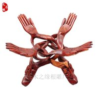 bergamot flowers - Suanzhimu Zhaocai Bergamot flower fruit wood carving decoration decoration frame overall Home Furnishing mahogany crafts