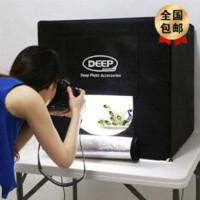 Wholesale Deep Led Lambency Box cm Professional Photography Studio Set degree revolving display photo studio softbox lighting kit