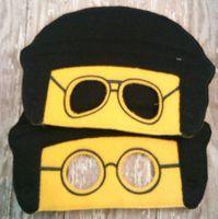 bad wedding dress - Bad Cop Good Cop Lego movie mask Cartoon felt masks Party Favor Dress Up Hot sale Drop shipping