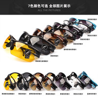 Wholesale Hot New design safety glasses goggles High Quality Mens designer cycling sport sunglasses brands colors mix