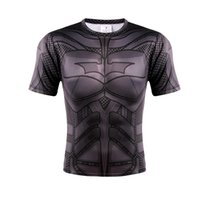 active row - The new iron man quick drying sports men T shirt breathable outdoor row t shirts with short sleeves tight riding clothes