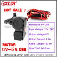Wholesale 2015 new v Waterproof Socket Motorbike Motorcycle Cigarette Lighter Adaptor V USB Power Charger socket ipad