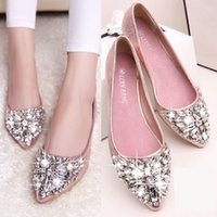 ballet style slippers - 2016 new fashion summer style princess ballet slipper Zapatos casual shoes
