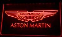 aston martin auto - LS063 r Aston Martin Auto Neon Light Sign jpg