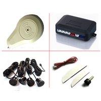auto buzzer systems - 4 Sensors Buzzer Car Parking System Kit V Auto Reverse Parking Sensors Backup Radar Detector Parktronics for Car Security System