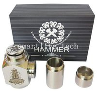 battery extension tube - Hammer Mods hydraulic hammer of god box mod clone Full Mechanical Mod with Extension Tubes for Battery creative mod