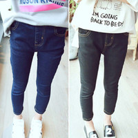 girls skinny jeans - Girls Jeans Kids Pants Fashion Skinny Jeans Child Clothes Kids Clothing Autumn Denim Trouser Girl Dress Children Jeans Lovekiss C27646