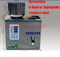 Wholesale 2 g tea Packaging machine granule medlar automatic weighing machine powder filler filling machine
