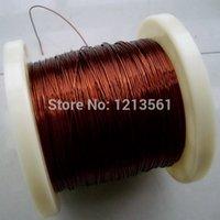 Mayor-Libre 0,47 mM tamaño largo del envío 100m QZ-2/180 cobre esmaltado Grado de alambre de alambre / imán