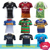 Wholesale Rugby super jersey Rugby Stormers Bulls Sharks Jersey New Zealand man rugby shirt size S XL Thailand Quality