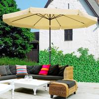 Wholesale 10ft Aluminum Outdoor Patio Umbrella Yard Garden Market Crank Tilt