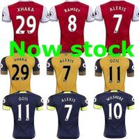arsenal patch - Free ship TOP Best Arsenal jersey RAMSEY home away GIROUD OZIL XHAKA WILSHERE BELLERIN ALEXIS SHIRT sports jersey Free patch