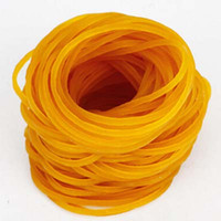 Wholesale New pack High Quality Rubber bands strong elastic hair band loop Office School Supplies