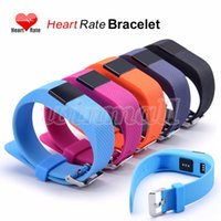 Wholesale TW64S Smart Bracelet Fitness Heart Rate Outdoor Sports Band Wristbands Tracker Bluetooth Watch for IOS Android TW64 upgraded version