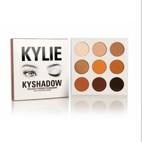 Wholesale Kylie Eyeshadow Cosmetics Jenner Kyshadow pressed powder eye shadow Kit Palette Bronze kylie jenner Makeup Cosmetic Colors DHL