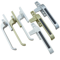 Wholesale zinc alloy window knob window latch door handle furniture hardware part pull bolt window lock