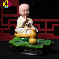 activity trays - Home Decor Incense Burners Incense Burners Ceramic Disc Hand Painting Monk Incense Tray Incense Buddha Activities Home Decor