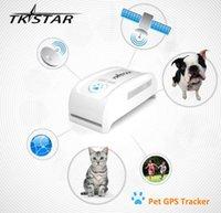 супер мини-TK909 водонепроницаемый трекер в режиме реального времени GSM GPS Pet Tracker собаки кошки Pet Персональный GPS трекер / IOS / Andriod App бесплатный веб-сайт