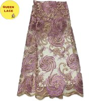 african curtains - 2016 Latest Dress Designs French Lace Curtains High Quality African Tulle Lace Fabric For Women Dress