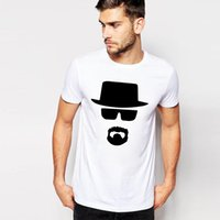 bad shirts - Summer Cotton Tops Breaking Bad Heisenberg T Shirts Men s Cotton Round Neck Tshirts Fitness Short Sleeve T shirt S M L XL XXL
