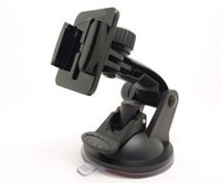 Wholesale 180 Degree Gopro Car Suction Cup Mount Holder Bracket Tripod Adapter Long Screw For Go Pro Hero