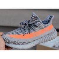 legit - 2016 Yeezys Boost V2 Beluga With Box Kanye West Yeezys Boost Glow In The Dark Grey With Orange Stripe Legit Yeezys