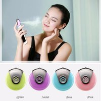 beauty makers - Mini phone Humidifier Aromatherapy essential oil diffuser and Mist Maker Fogger Beauty replenishment for Andrews and IOS mobile phones