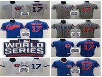 Wholesale 2016 World Series patch Chicago Cubs Kris Bryant Jersey White Blue Alternate Gray Road Stitched Kris Bryant Cubs Baseball jerseys
