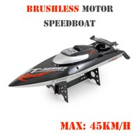 battery recovery - Feilun FT012 Brushless Motor Ghz quot HIGH SPEED RC Remote Radio Control Racing Boat Max Speed MPH km h w Capsize Recovery