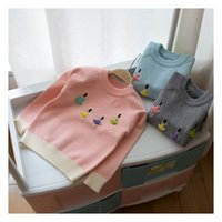 baby dancers - Hot Sale New Arrival Children Clothe Baby Girls Knitted Autumn Winter Pullovers D Dancer Sweaters Warm Outerwear Girls Sweater