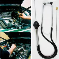 best stethoscopes - Best Price Selling Professional diagnostic tools Car Engine Block Stethoscope car detector Engine Analyzer For Audi For BMW Car