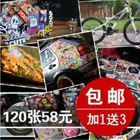 auto upholstery supply - Waterproof Auto supplies auto upholstery doodle car stickers exterior decoration supplies car stickers
