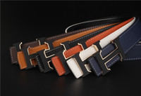 Wholesale Youth belts foreign trade hot style imitation leather men s belt buckle belt business letters