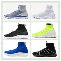 Wholesale Hot Sale Knit Dark Obsidian Triple Black White Free Mercurial Superfly SP HTM Sports Running Shoes Men Women Sneaker With Box Size US5