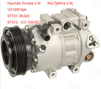 Wholesale VS18 fit Hyundai Sonata Kia Optima a c compressor K220 CO C