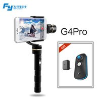 gold pan - New Item FeiyuTech official axis brushless handheld pan degree moving gimbal for iphone s s plus FY G4 Pro