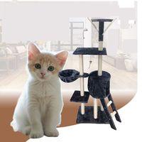 Wholesale Cat Tree Camo Fleece Cat Toys Inches Fashion Cat Safety Soft Sisal Camo Fleece Climb Cat Climbing Frame Pure Color Cat Climb