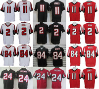 freeman - Falcons Elite Mens Jerseys Julio Jones Devonta Freeman Matt Ryan Roddy White Stitched Jerseys Free Drop Shipping