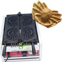 Wholesale Crab Shape commercial waffle making machine waffle iron waffle baker machine