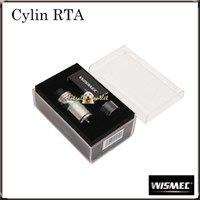 auto drip - Authentic Wismec Cylin RTA Atomizer Kit with ml e Juice Capacity with an Auto Dripping System Notch Coil Cylin RTA Tank Original