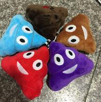 Cheap emoji plush toys Pillow Cushion cartoon Poo Stuffed Animals Pillows dolls Poo Shape Toy Pillow 35 cm KKA766