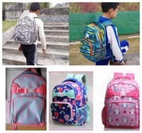 Wholesale Children s School Bags Dinosaur animal schoolbag Kids Boys Girls fashion print children backpack Shoulder Book Bags Rucksack KKA584